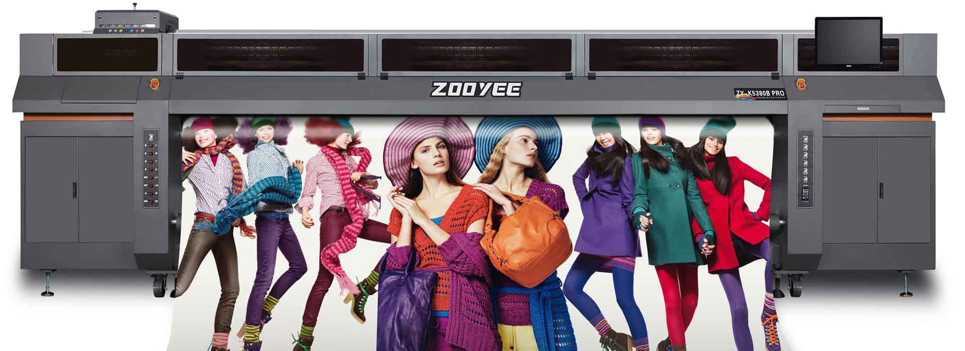5M width Uv Printer , konica 1024i, 12-14pcs with 6-7colors (CMYKLcLm+White),75sq.m/hour